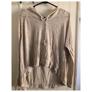 Hollister Sheer Long Sleeve Top